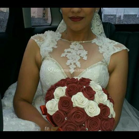 Buquê de Noiva Marsala