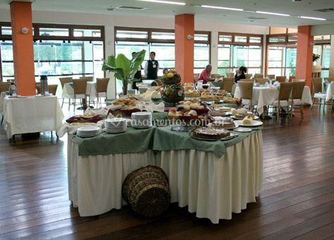 Salão para banquetes