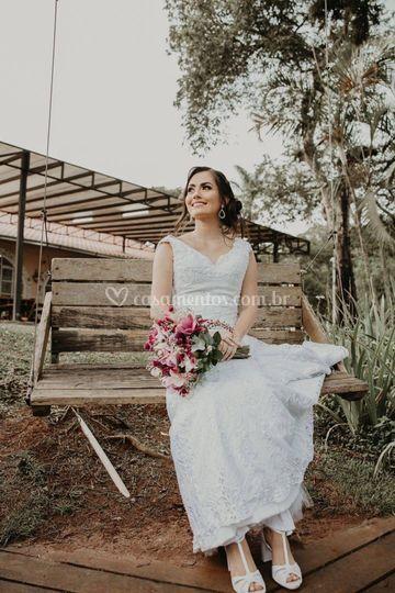 Divalentina sapato para noivas