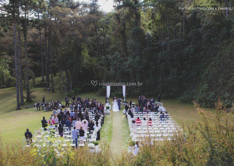 Casamento a tarde