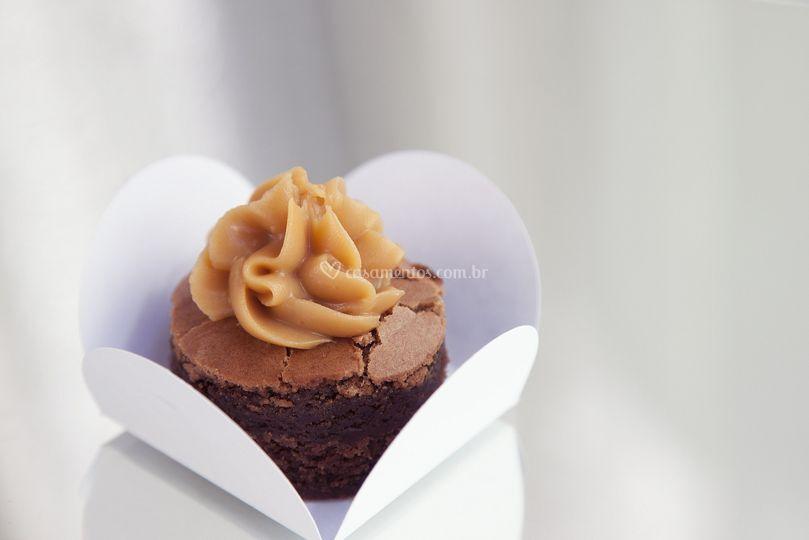 Mini-Brownie para eventos