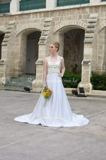Vestido de noiva Amber