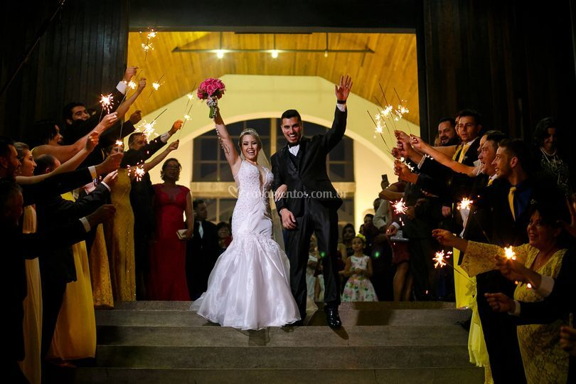Viva os noivos