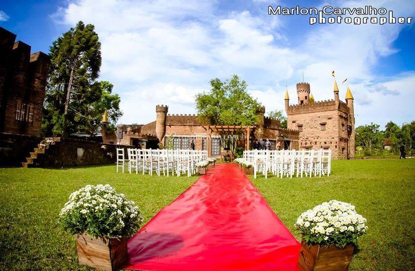 Cerimonia no Castelo