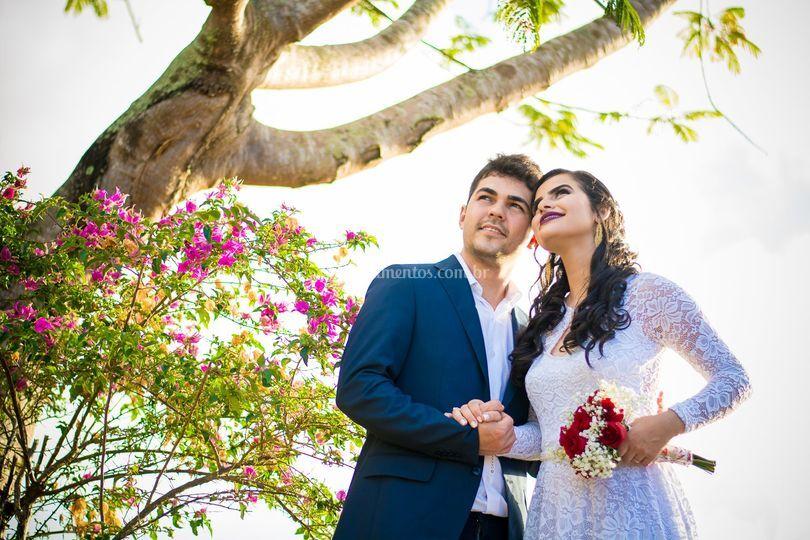 Casamento a luz do dia