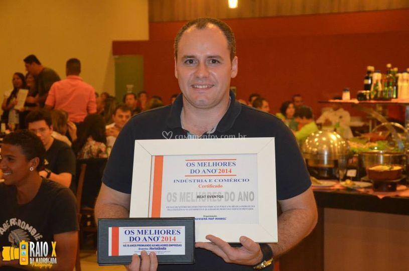 Premiação em Hortolândia