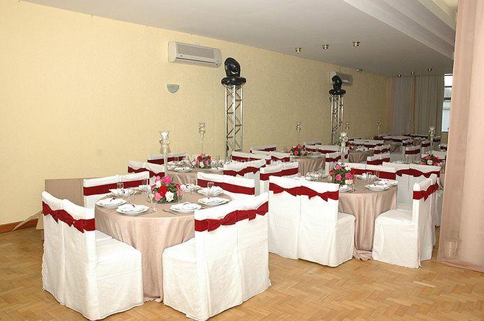 Vários salões para seu evento