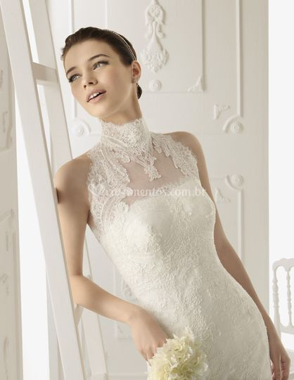 Vestido de noiva - Aire Barcelona
