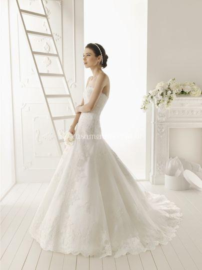 Vestido de noiva -Aire Barcelona