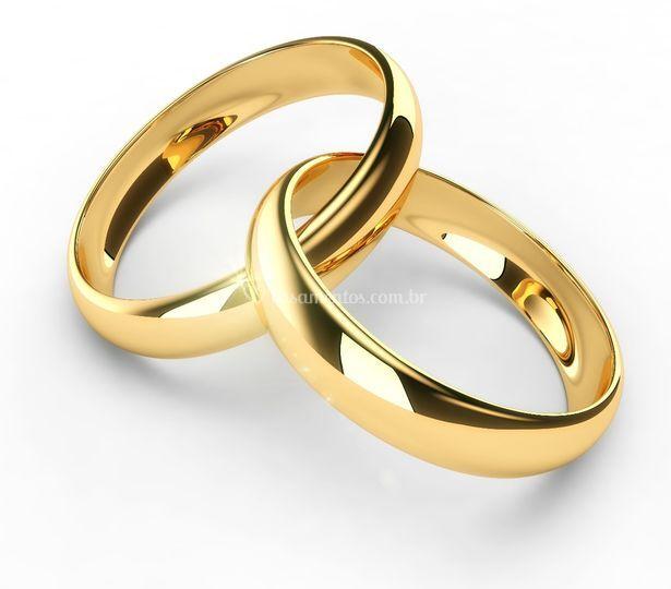 Alianças de casamento----