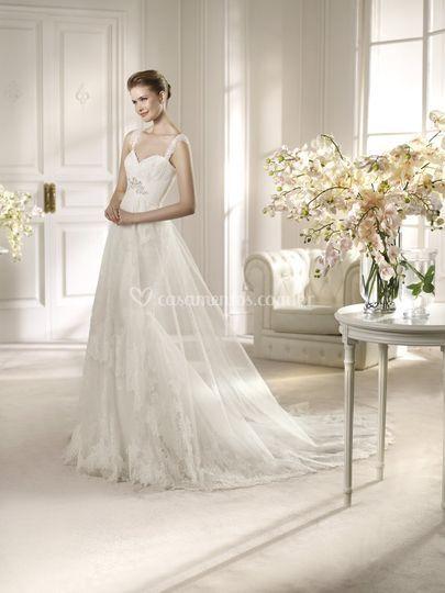 Vestido de noiva -Yolan Cris