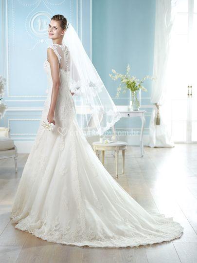 Vestido de noiva -San Patrick de Casamarela Noivas