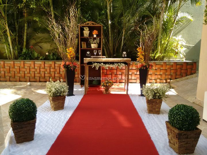 Areá externa cerimonial