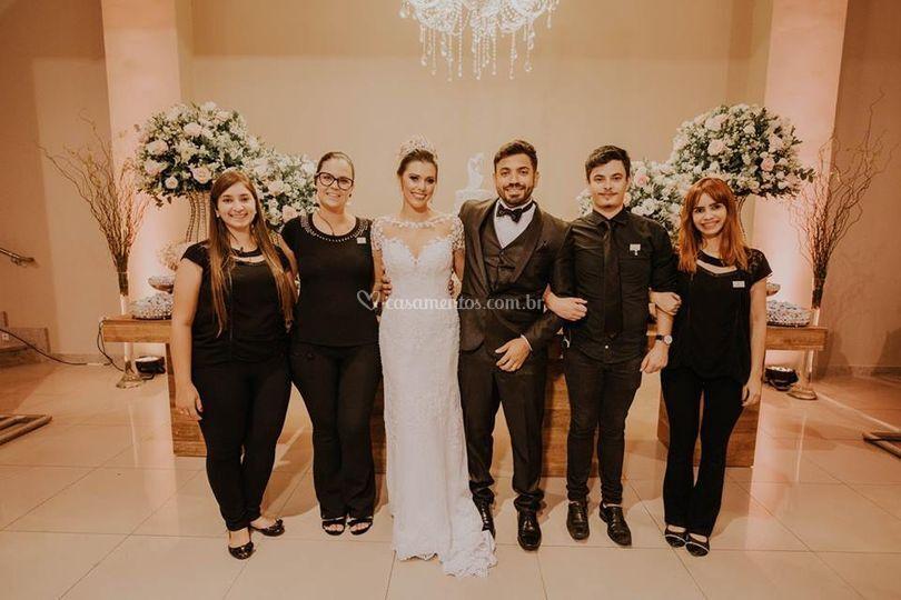 Equipe Casamento Carol