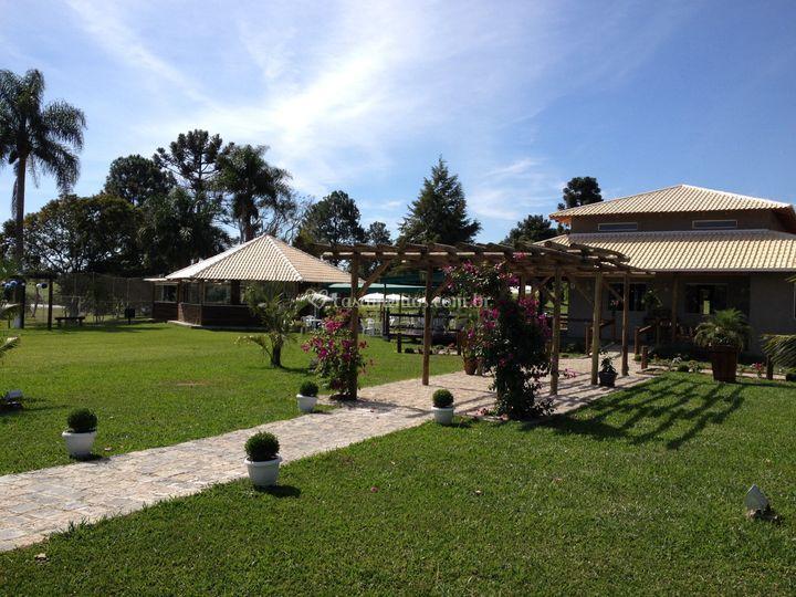 Salão de Chácara Nocera