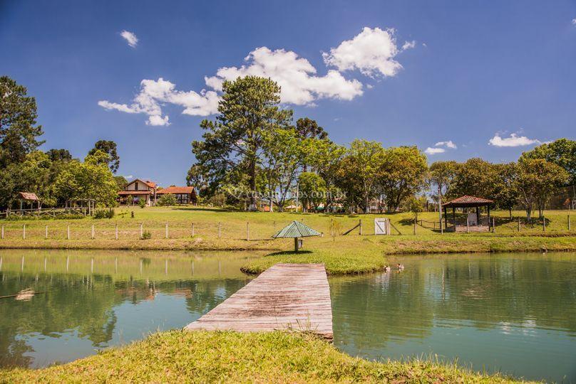 Lago romântico