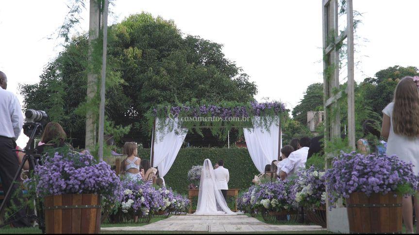 Wedding fim de tarde