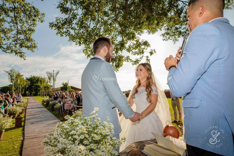 Casamento no Fazenda!