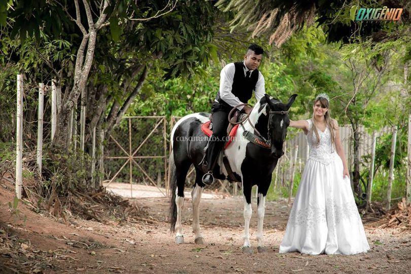 Pós Casamento Luan e Larissa