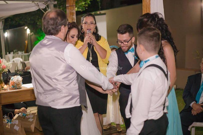 Cerimonia de bodas de Prata