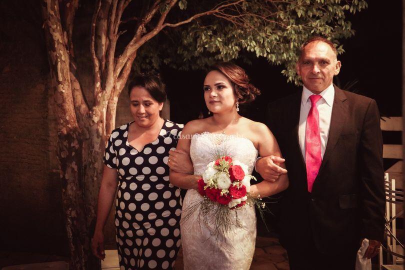 Dos pais da noiva