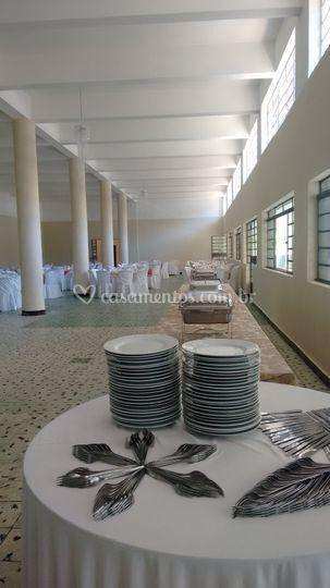 Salão para 400 convidados