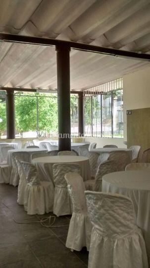 Salão para 100 convidados