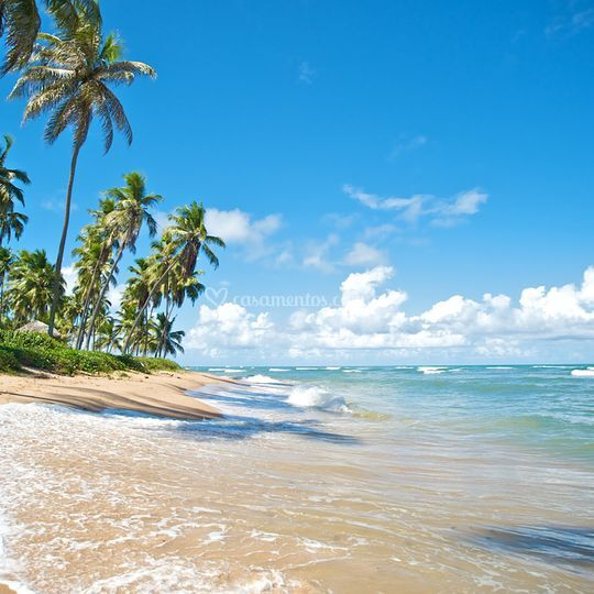 Praia no nordete