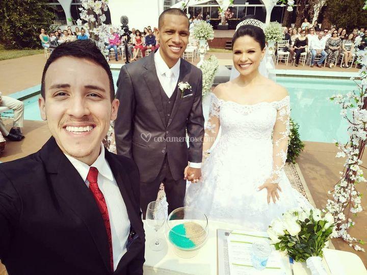 Casamento de João e Celia