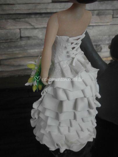 Detalhe vestido