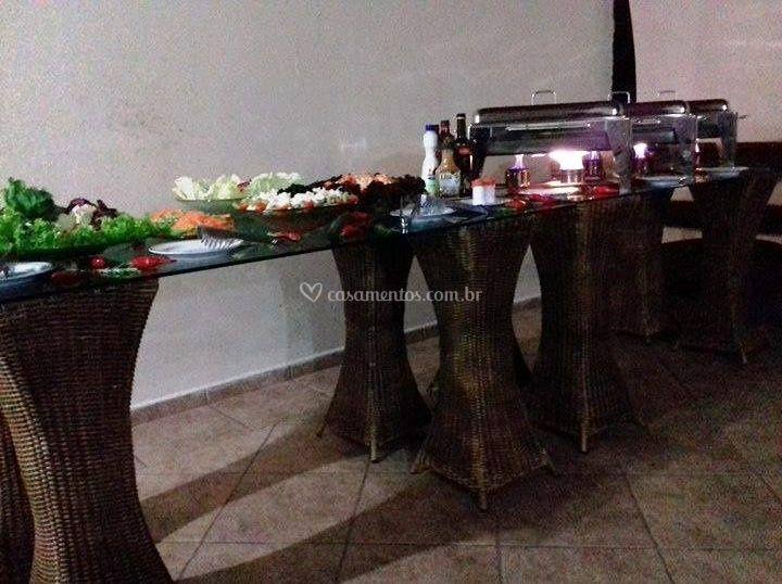 Casamento coquetel e jantar