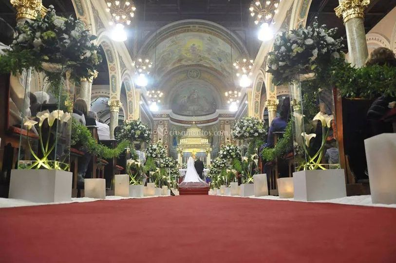 Cerimônia em igreja