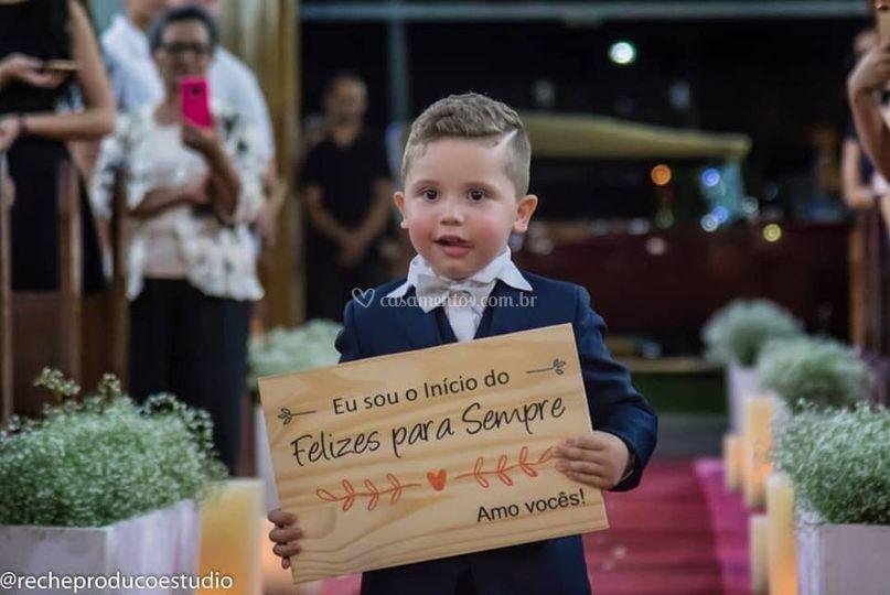 Filho dos noivos