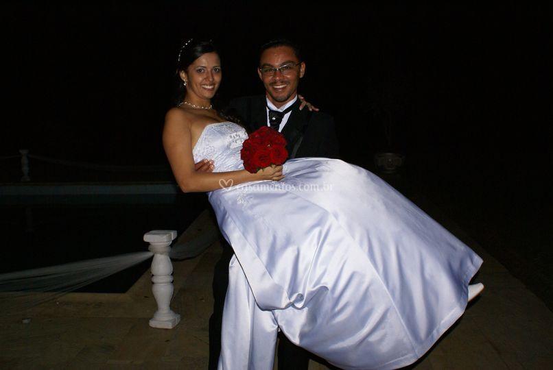 Karen e Osvaldo