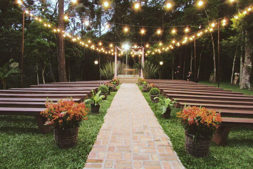 Corredor da cerimonia