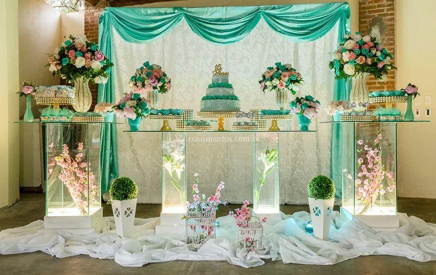 Tifany decoração