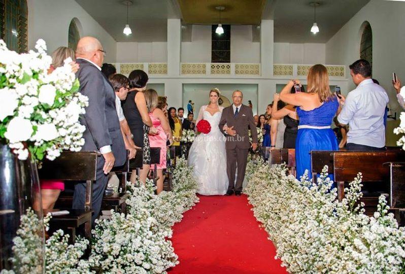 Uma cerimônia bem romântica