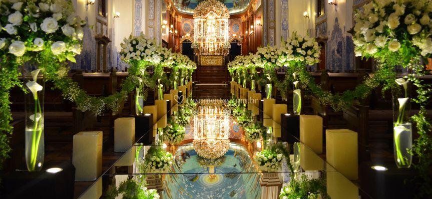 Cerimônia em Igreja Católica