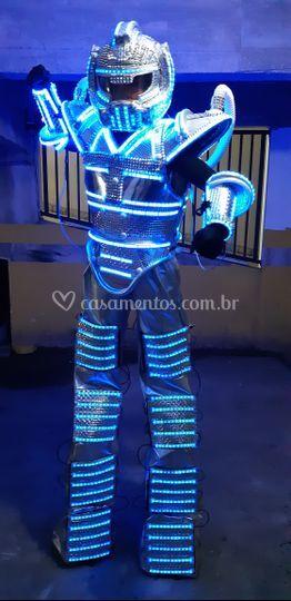 Robô Led Show