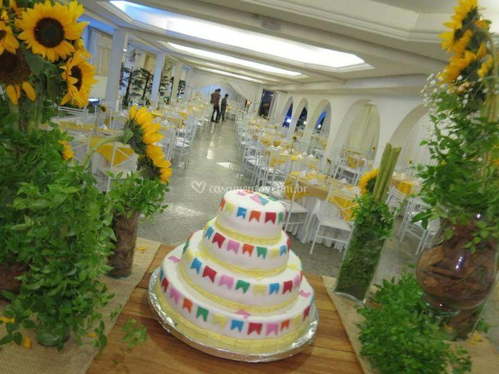Casamento tema festa junina