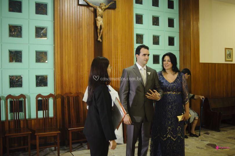 Noivo x cerimonial