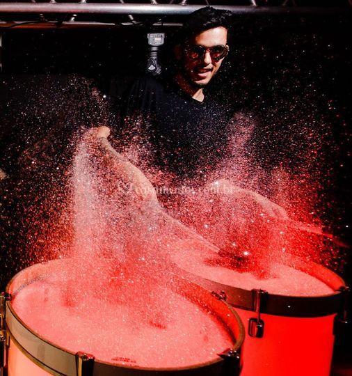 Color Drums- Show de cores