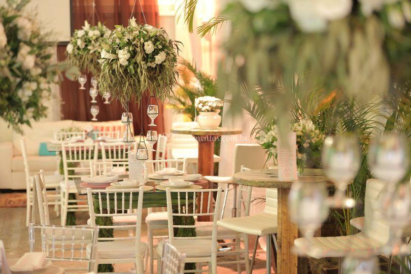 Detalhe Mesa de Jantar