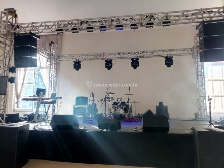Estrutura básica palco