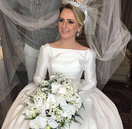 Noiva Michelle Blum