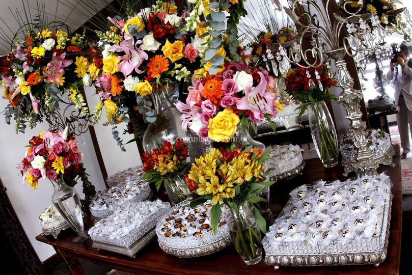 Mesa de doces - buffet