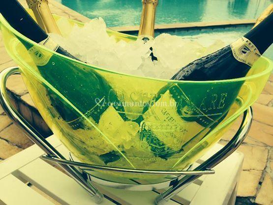 Espumante e champanheira