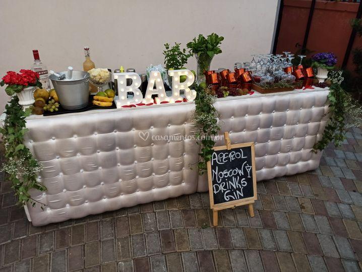 Bar branco