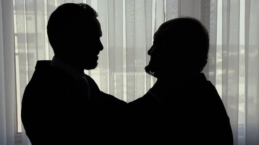 Noivo e Pai