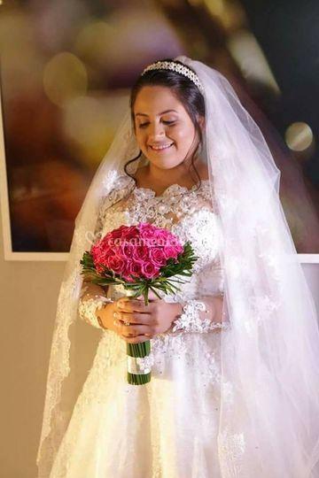 Dia Da Noiva - Poses No Hotel